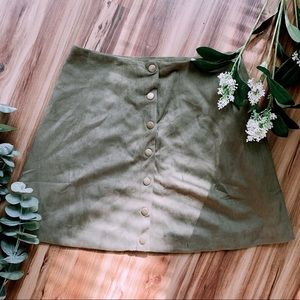 Altar'd State Button Skirt 🌿